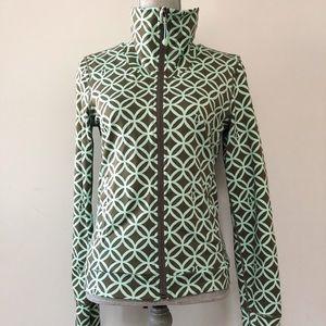 Lululemon rare retro print luon zip up jacket